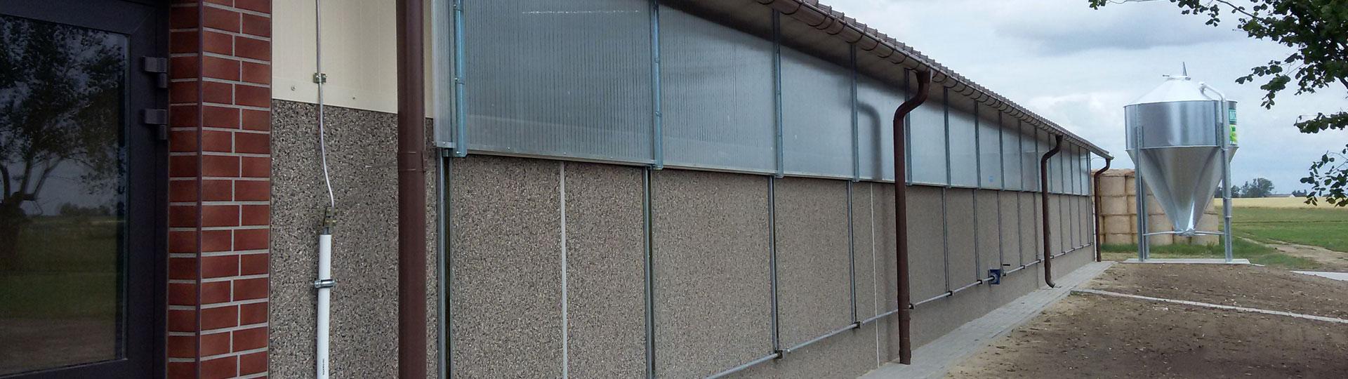 Ściany warstwowe do obór