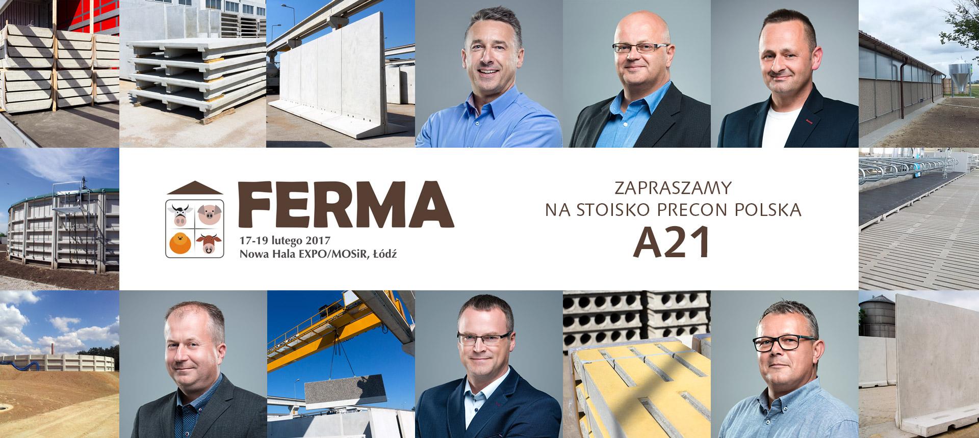 Ferma Bydła Targi Łódź Hala Expo 2017 Precon Polska Stoisko A21