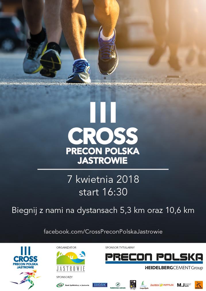 Bieg 3 Cross Precon Polska Jastrowie