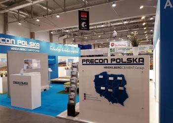 Precon polska zaprezentowało na targach Ferma 2018 w Łodzi ofertę silosów na kiszonki, ruszt dla bydła i trzody, legowisk dl bydła i belek podrusztowych.