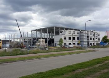 Budowa hali przemysłowo-magazynowej Brinkhaus w Kostrzynie nad Odrą