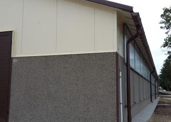 Budynek inwentarski ze ścianami prefabrykowanymi