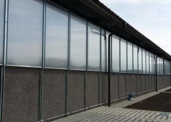 Ściany do obory