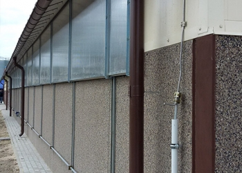 Ściany prefabrykowane do obory