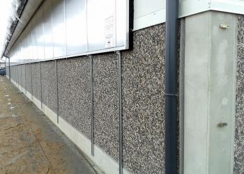 Ściany prefabrykowane warstwowe do obory