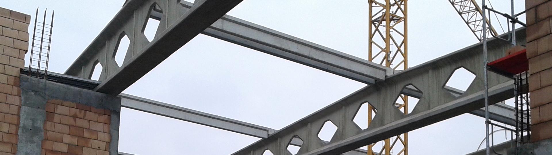 Prefabrykowane płatwie dachowe
