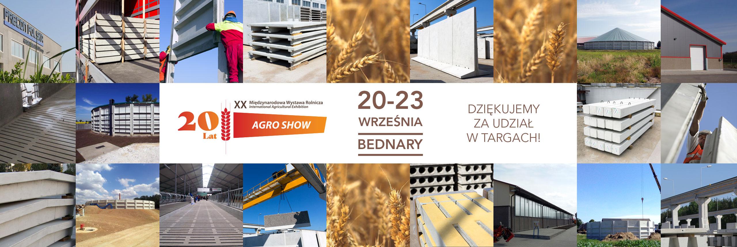 Precon Polska na Agro Show 2018 - Sektor E Nr 149