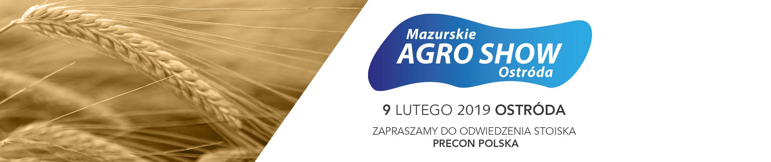 Targi rolnicze Mazurskie Agro Show 2019