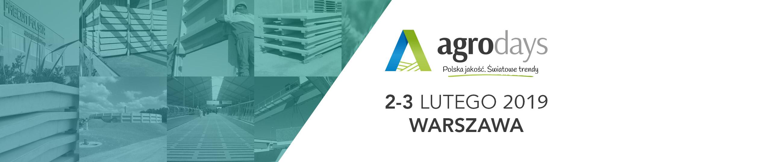 Targi rolnicze Agro Days 2019 - Warszawa
