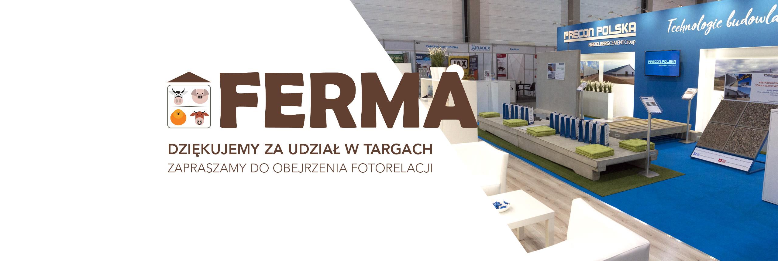 Targi Rolnicze Ferma 2019 w Łodzi Precon Polska