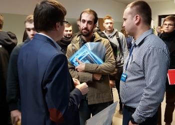 Stoisko Precon Polska na akademickich targach pracy