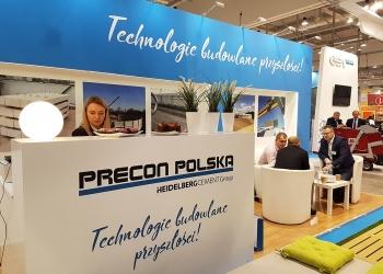 Targi Ferma Bydła, Świń i Drobiu 2017 w Łodzi - Stoisko Precon Polska