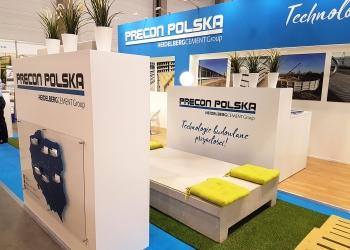Stoisko Precon Polska podczas Targów Ferma w Łodzi