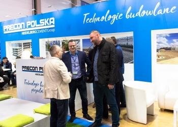 Stoisko Precon Polska na Targach Ferma Bydła, Świń i Drobiu w Łodzi